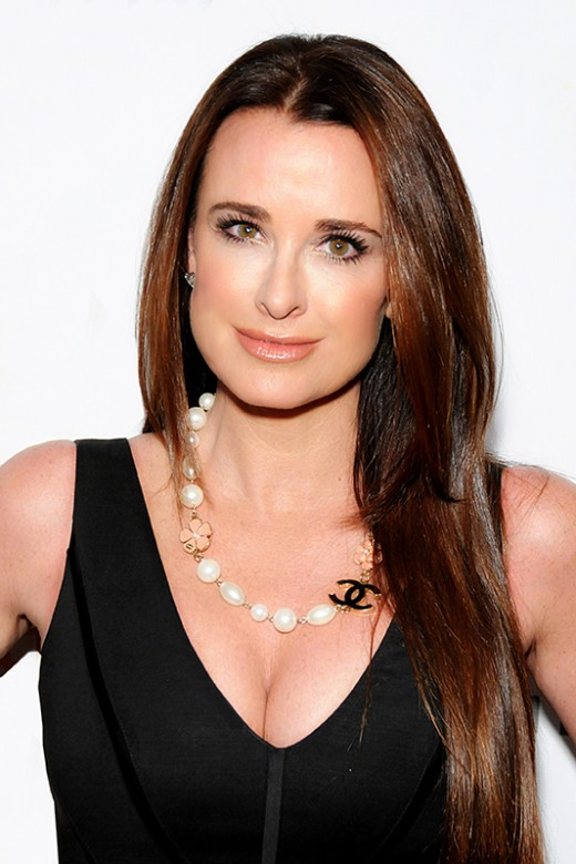 Kyle Richards is worth $20 million on her own, but $120 million with her luxury real estate broker husband's money included.