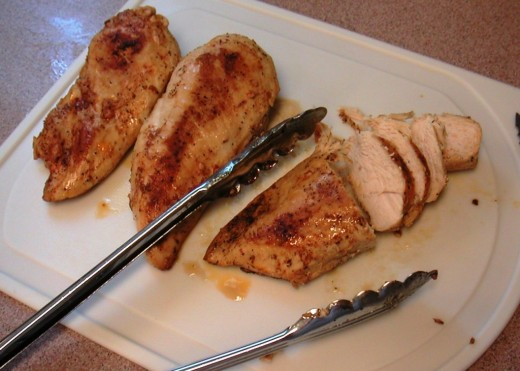 Boneless Chicken from freezer to serving plate in just minutes