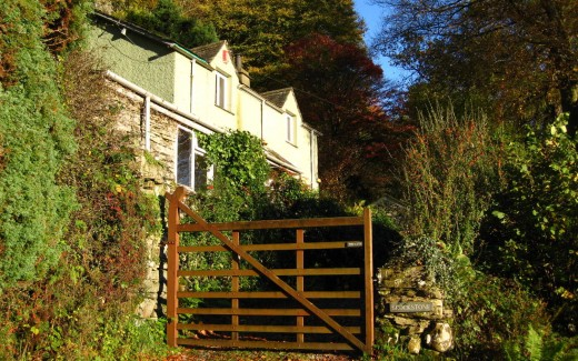 Brockstone Grasmere Holiday rental cottage, with amazing views over Rydal Water.