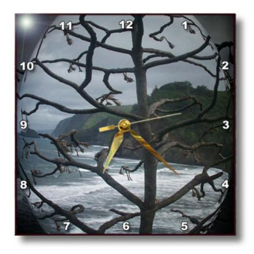 item: 6073 Clock on 3DRose