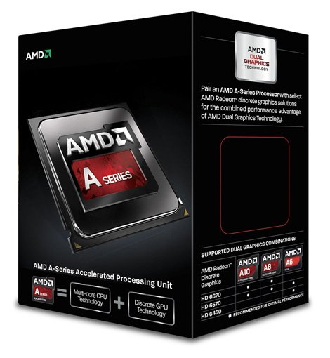 At around $55 the A6 6400k gives us a processor and graphics setup that's good enough to play most modern games in 720p or low setting 1080p.