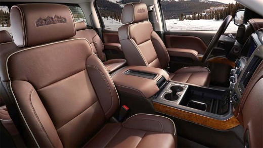2015 Silverado 1500 High Country Interior