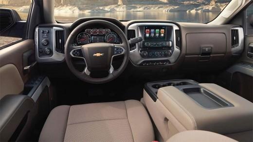 2015 Chevy Silverado 1500 LTZ Z71 Interior