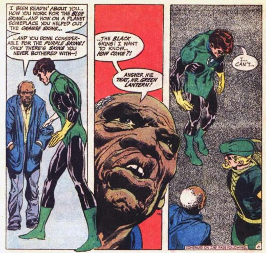Probably the most offensive thing ever written in a politically motivated comic book.