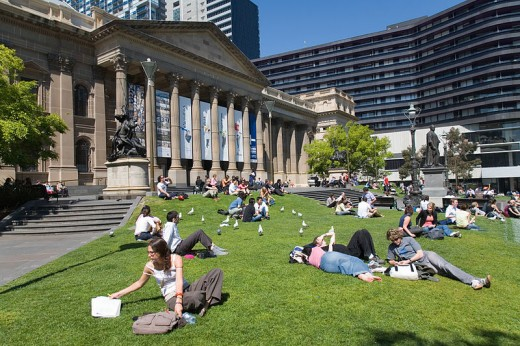 The State Library of Victoria. Melbourne.
