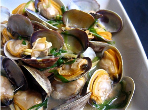 how to buy fresh clams