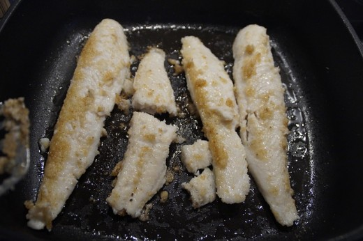 Fry in a small amount of Canola Oil for extra CoQ10.