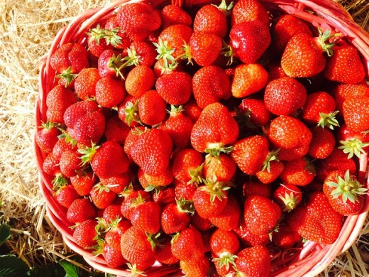 Strawberries are another source of CoQ10. The fresher the better.