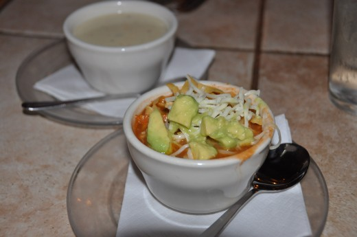 Huisache Grill's Chicken Tortilla Soup