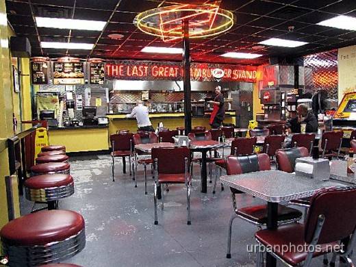 The same Fatburger as shown in the first photo, nearly six years later, Dec. 15, 2008.