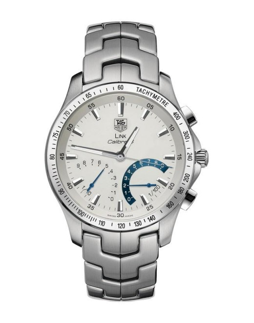 Tag Heuer Link Chronograph White