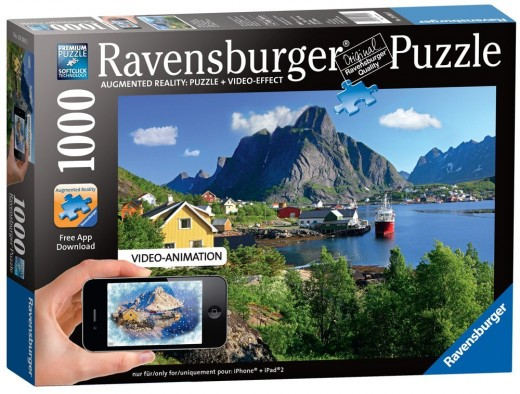 Lofoten, Norway Augmented Reality Puzzle