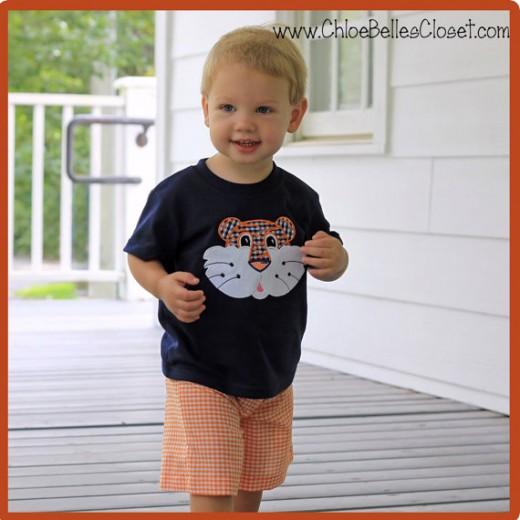 Boys Tiger Shirt