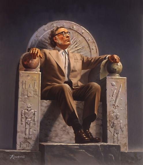Isaac Asimov - Genius, Visionary, Writer