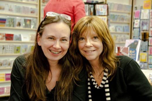 Authors Yrsa Sigurðardóttir & Cara Black