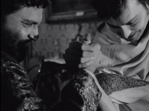 Bhupati and Amal in Charulata