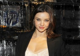 "This is Miranda Kerr, a film star, not a ""football widow"""