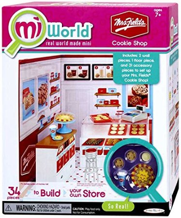 Picture of the boxed Mrs Fields Cookies playset
