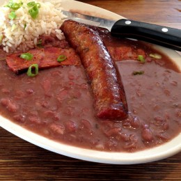 Have you ever made Red Beans and Rice with Andouille Sausage? If not you should real soon.
