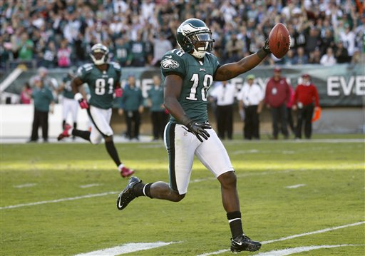 Philadelphia Eagles WR Jeremy Maclin