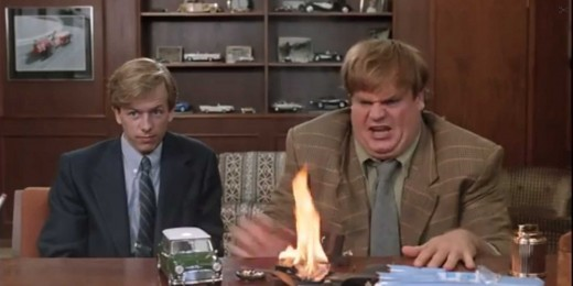 Chris Farley and David Spade also starred in Tommy Boy