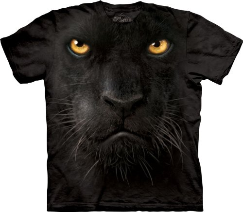 The Mountain Panther Face Adult T-shirt