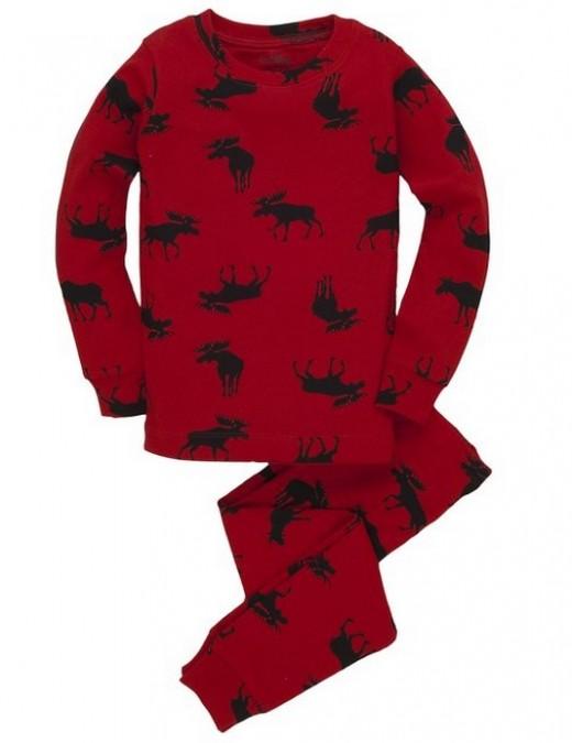 Hatley Moose Pajamas