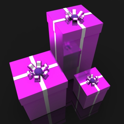 Her ideal gift would be to receive lots and lots of them!