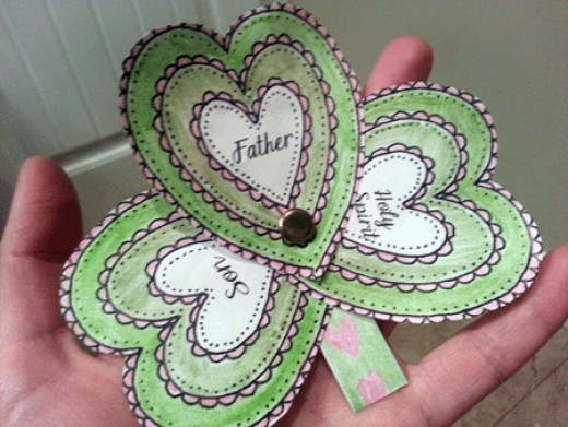 46 outstanding christian craft ideas for kids hubpages for Holy spirit crafts for sunday school