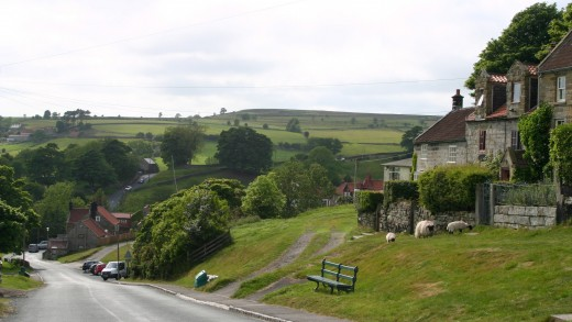 The rolling hills of the North York Moors make for excellent road cycling