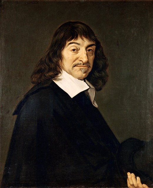 Rene Descartes painted by Frans Hals Wikipedia public domain image