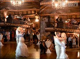 Ahhh, the bride and groom having fun dancing the night away