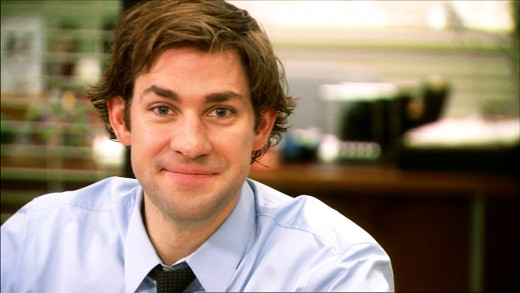 Jim Halpert making his patented face