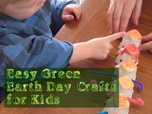 Explore Green, Easy Earth Day Crafts for Children
