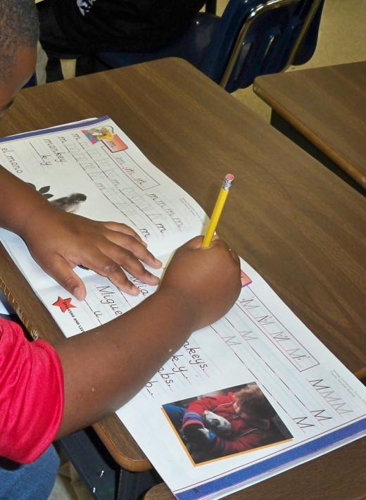 Literacy Stations: Handwriting