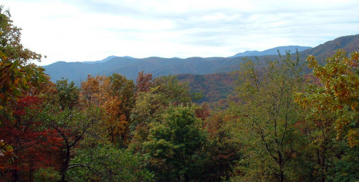 The Blue Ridge Mountains of North Carolina