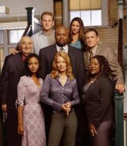 The cast of Boston Public