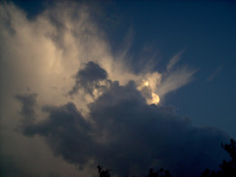 the coming storms signify angry spirits...