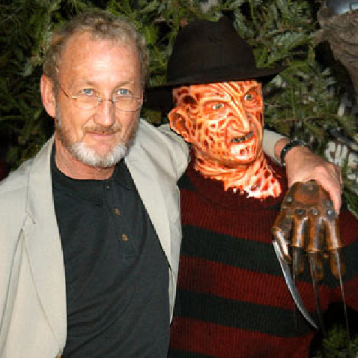 Robert Englund and his alter ego.