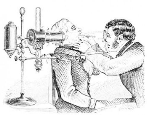 Laryngeal examination