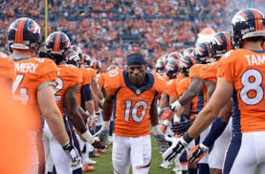 Emmanuel Sanders has been a huge addition for the top ranked Broncos.