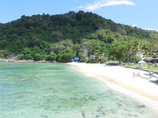 Big Eagle-Eye View of Little Tiiger Beach