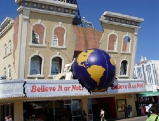 Ripleys believe it or not museum