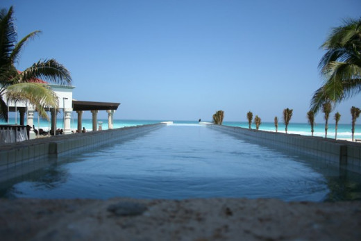 Pool View at Hyatt Zilara Cancun