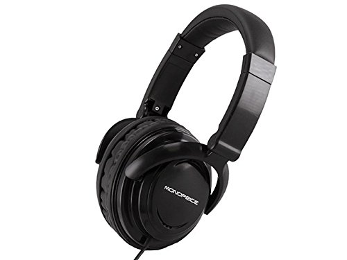 Monoprice 108324 Hi-Fi Light Weight Over the Ear Headphone for Cellphones