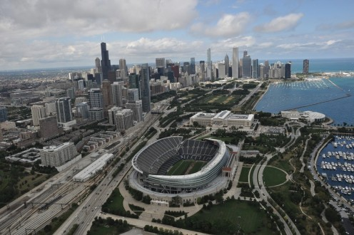 This is one of their pictures of the overview of the city of Chicago