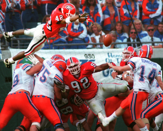 Recently retired Champ Bailey as a freshman