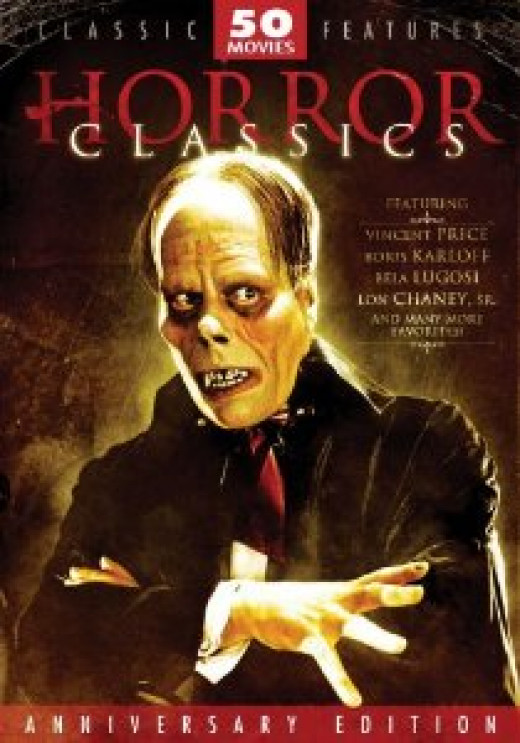 50 Public Domain horror films for around $15