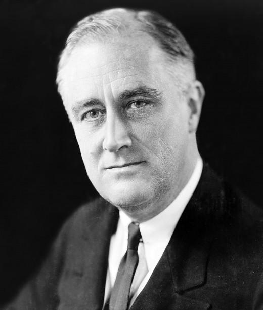 President Franklin Delano Roosevelt.