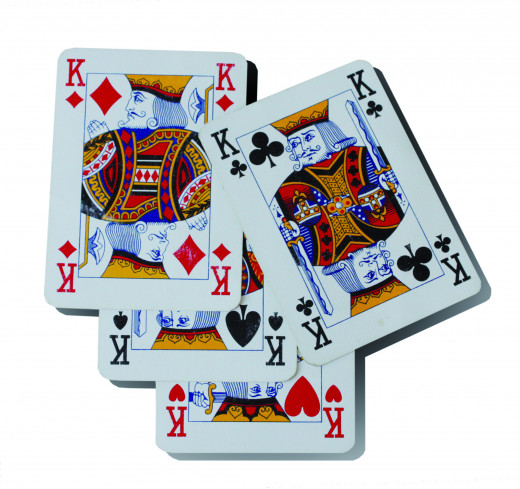 Four Kings would be handy to have in your hand as during the sets phase as long as your opponent didn't have four Aces you would get 14 points.